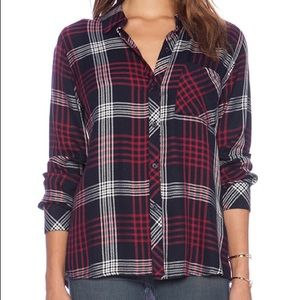 Rails Plaid Button Down